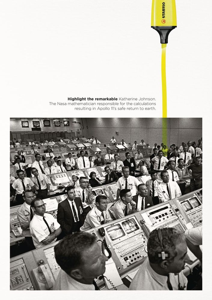 best print ads highlight