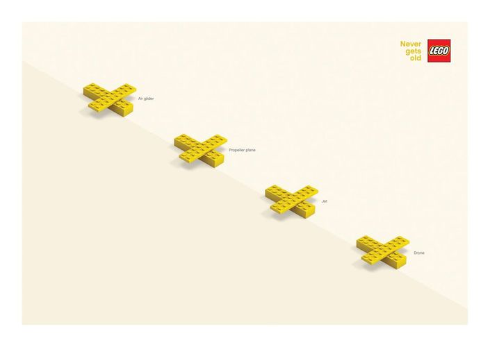 print ads lego