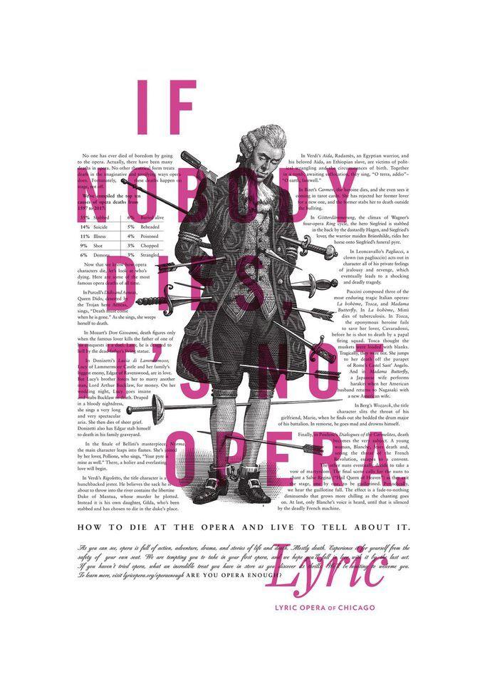 best print ads opera